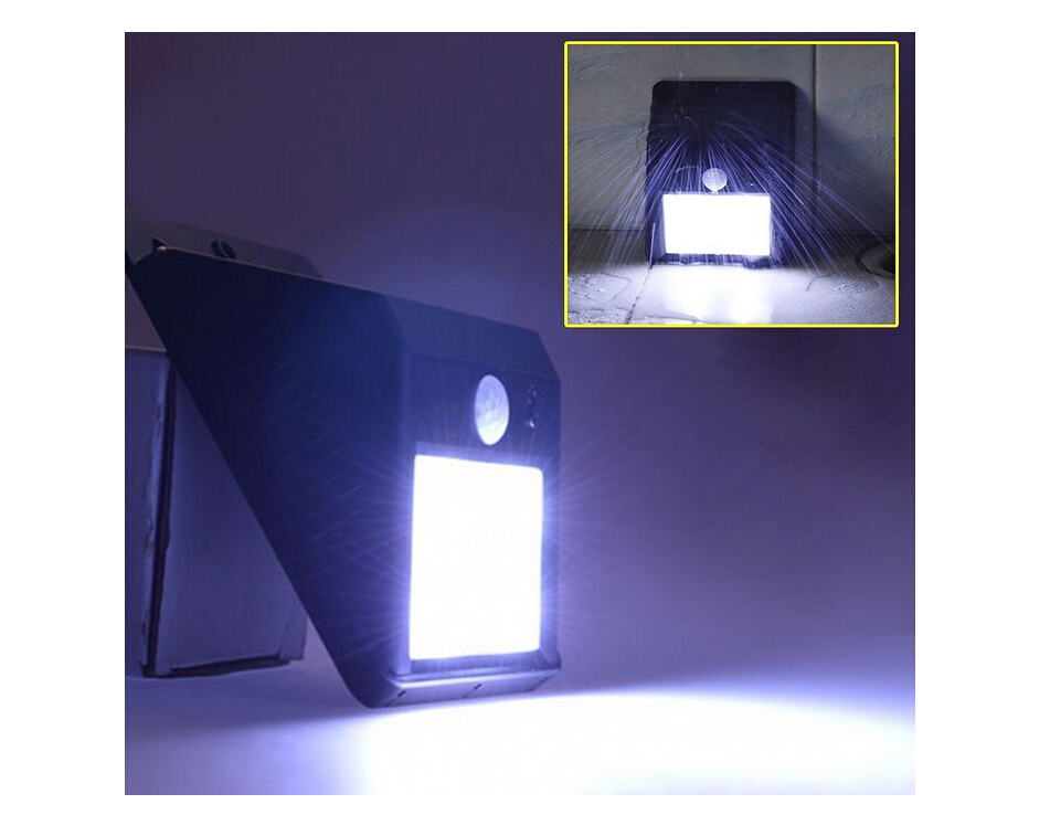 10 LED Motion Sensor ACE Solar Light. Dusk to Dawn