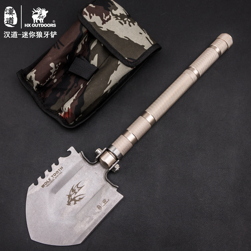 HX OUTDOORS Radiation Survival Camping Shovel Hunting Outdoor Tool Multifunction Hand Tool Garden Spade Snow Shovel For Car