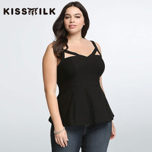 plus size summer western style fashion loose solid ruffles backless 3XL-6XL  large size black woman s Casual tank top a60995a8d1a5