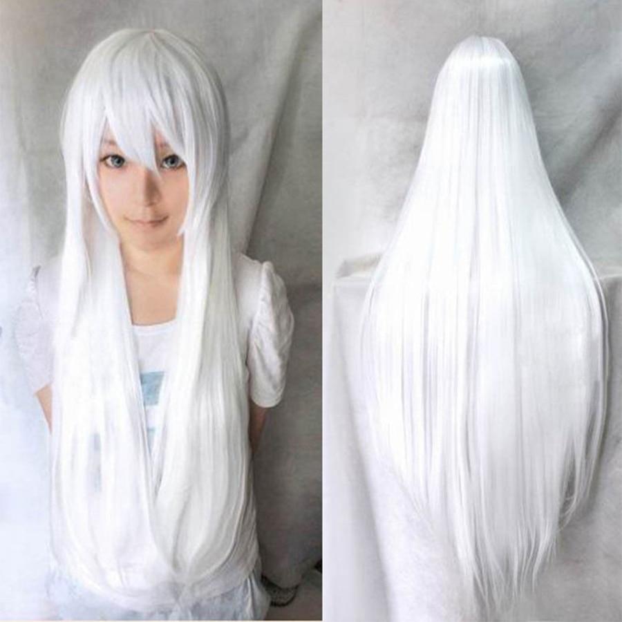 Hot Sale 80cm Long Straight Wigs Heat Resistant Cheap ...