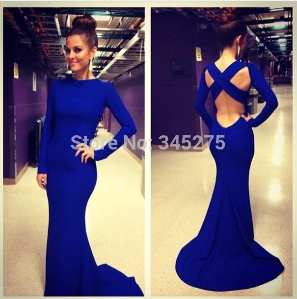 Dresses for Prom Royal Blue Micheal Kors