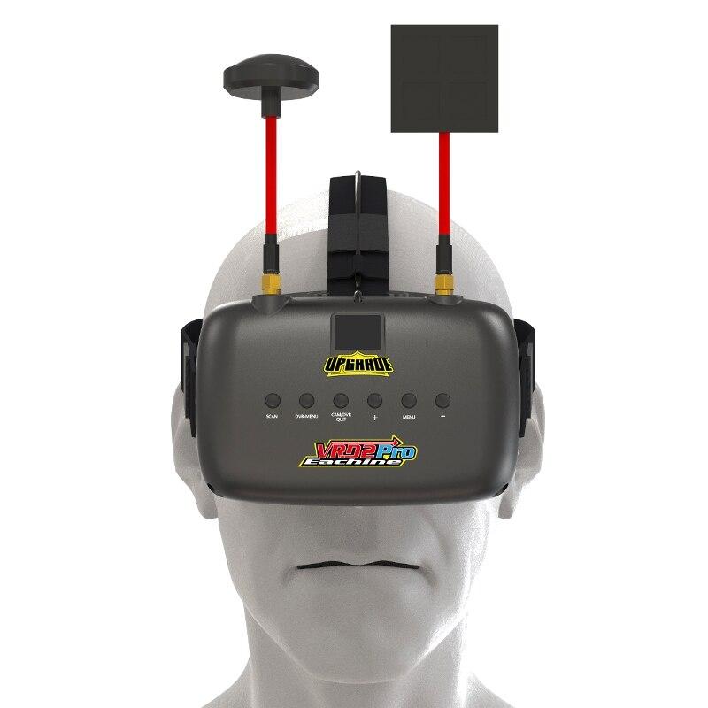 Нибиру VR D2 Pro 5 дюйм(ов) 800*480 40ch 5.8 Г разнообразие FPV-системы очки ж/DVR объектив регулируемая видео-очки для FPV-системы Quadcopter Дрон
