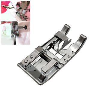 1Pcs Cloth Splice Presser Foot for Household Sewing Machines Useful Metal Multifunction Sewing Foot Sewing Machine Accessories