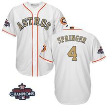 37701046 Houston Astros George Springer World Series Champions Patch Jersey(China)