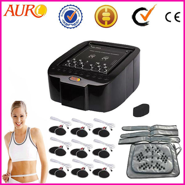 2017 Best Body Massager Waist Weight Loss Electrical Muscle Stimulator Muscle Stimulation Massager EMS Beauty Machine for Spa high quality body massager electronic muscle stimulation 2 pad gymform duo muscle stimulator relax massage lt01051