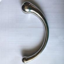 Новая нержавеющая сталь Анальный фаллоимитатор Металла пенис анальная пробка простаты массажер G-spot стимуляция продукты секса для женщины мужчины геи