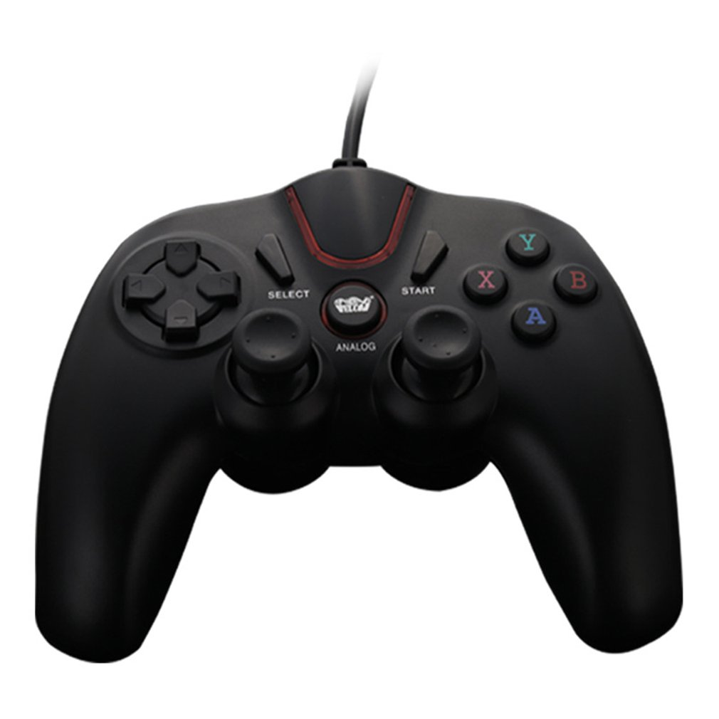 wired game controller for PUBG computer for Android mobile phone TV box for PS3/PC vibration