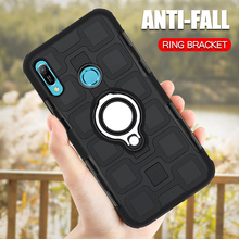 Luxury Armor Case For Huawei Y6 Prime 2019 Silicone Phone Shockproof Cover Pro