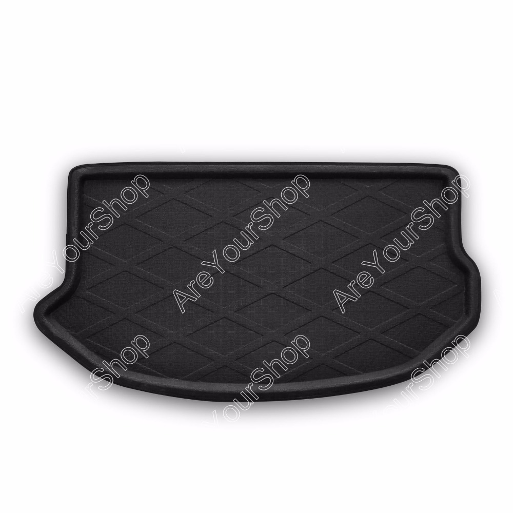 Auto Cargo Mat Boot liner Tray Rear Trunk Sticker Dog Pet Covers For Kia Soul 2009 2010-2013 Good Quality Car-Covers Stickers car rear trunk security shield cargo cover for volkswagen vw tiguan 2016 2017 2018 high qualit black beige auto accessories