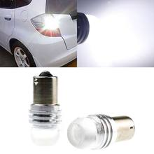 One 1156 Ba15S P21W Dc 12V Q5 Led voiture | Lampe d'inversion lumineuse ampoule blanche(China)