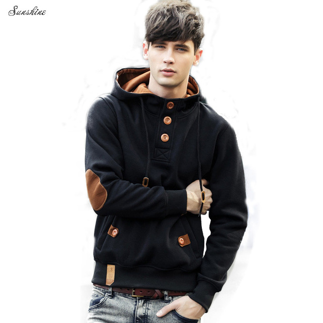 Aliexpress.com : Buy Latest Fashion Patchwork Cotton Man's Hoodies ...
