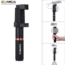 Comica CVM-R2 Smartphone Video Rig Hand Grip Handle Stabilizer Kit for iPhone X 8 7 6s Plus for Samsung Huawei Cell Phone etc. ulanzi u grip pro triple shoe mount video stabilizer handle video grip camera phone video rig kit for nikon canon iphone x 8 7