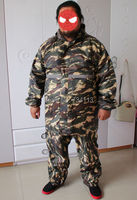 Maximum size Obesity raincoat 6XL 120KG FAT BODY loose size Men Women Large waist Big hip RainCoat biggest size Raincoat big guy