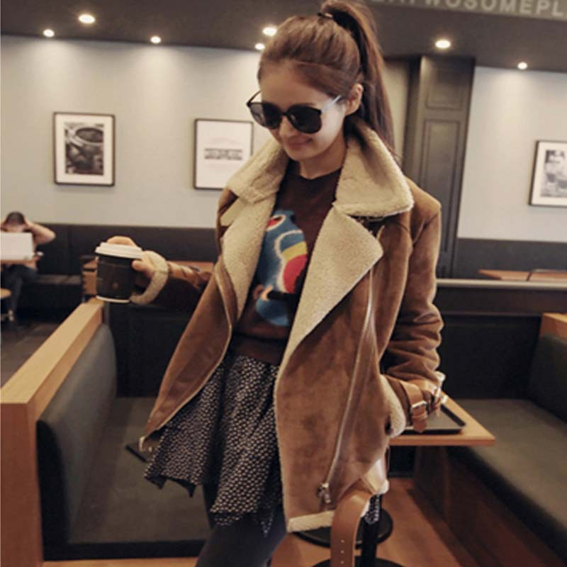 Online Get Cheap Womens Long Leather Coats Sale -Aliexpress.com