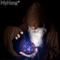 Magische USB Plasma Ball Sphere Nachtlichter Kristall Ferien Lampe Dekoration Desktop Globus Laptop Licht Lampen Weihnachten Party