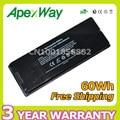 """Apexway Batería Del Ordenador Portátil Para Apple MacBook 13 """"A1181 MA254 MA255 MA699 MA700 MB061 MB062 MB063 MB402 MA472 MA701"""