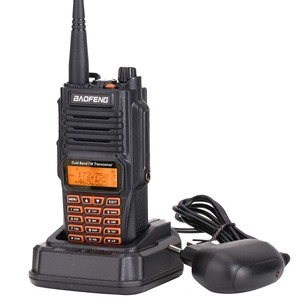 Image 2 - BaoFeng UV 9R Plus Waterproof Handheld Walkie Talkie 8Watts UHF VHF Dual Band IP67 HF Transceiver UV 9R Ham Portable Radio