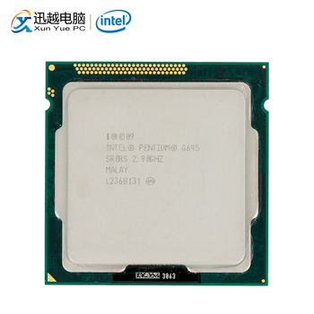 Intel Pentium G645 Desktop Processor G645 Dual-Core 2.9GHz 3MB L3 Cache LGA 1155 Server Used CPU