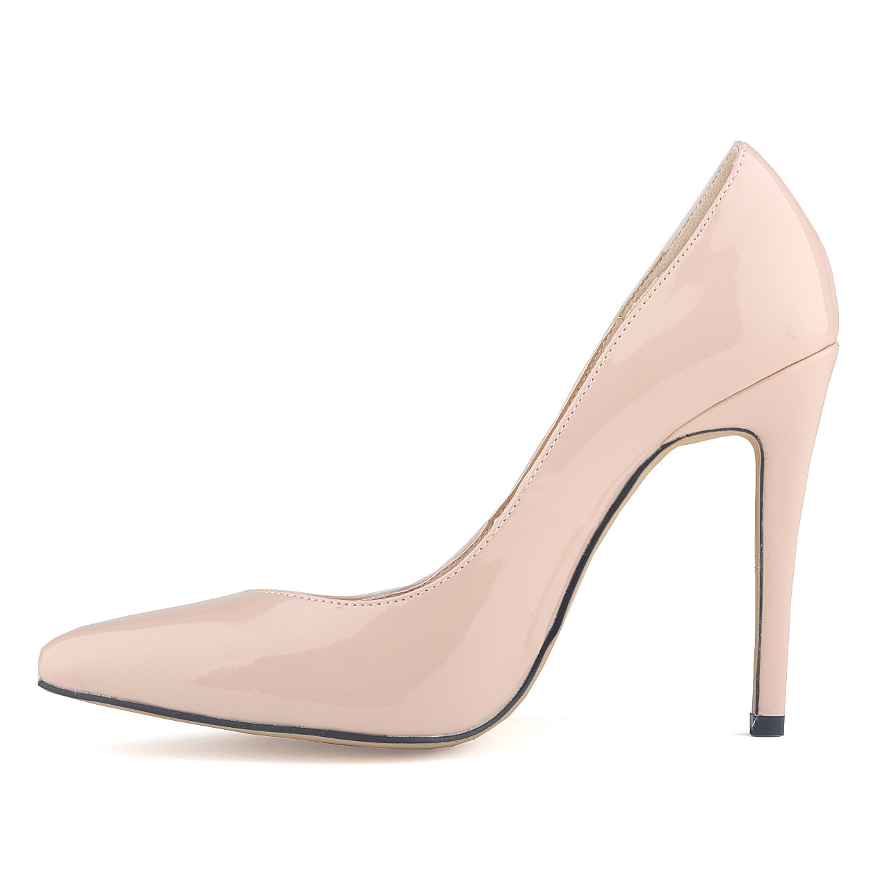 font b women b font shoes patent pu high heels pointed corset style work font