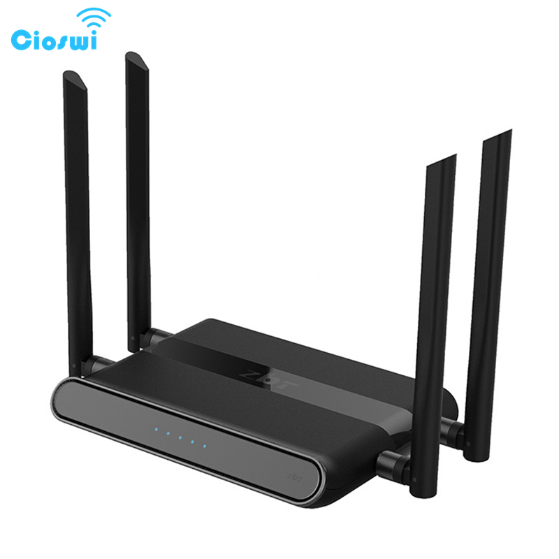 Cioswi 580Mhz MTK7628N Chip 1200Mbps Dual Band Wireless <font><b>Wifi</b></font> Router Stable & Strong <font><b>Wifi</b></font> Signal High Gain Antenna Access Point image