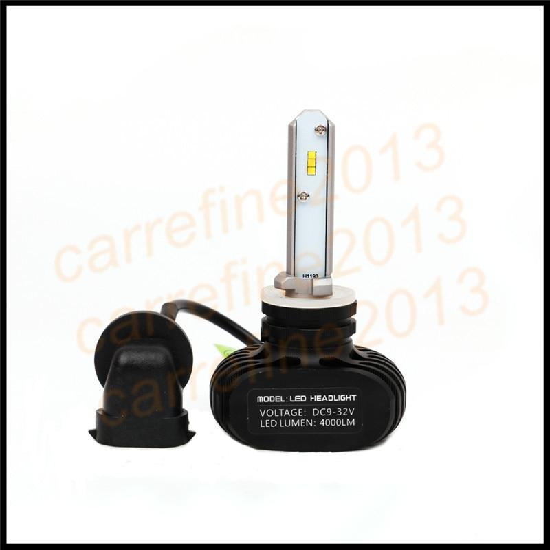 car led headlight H27 880 881 894 893 890 899 LED 50W 8000LM White Car DRL Fog Driving Headlight Lamp Car Styling conversion kit