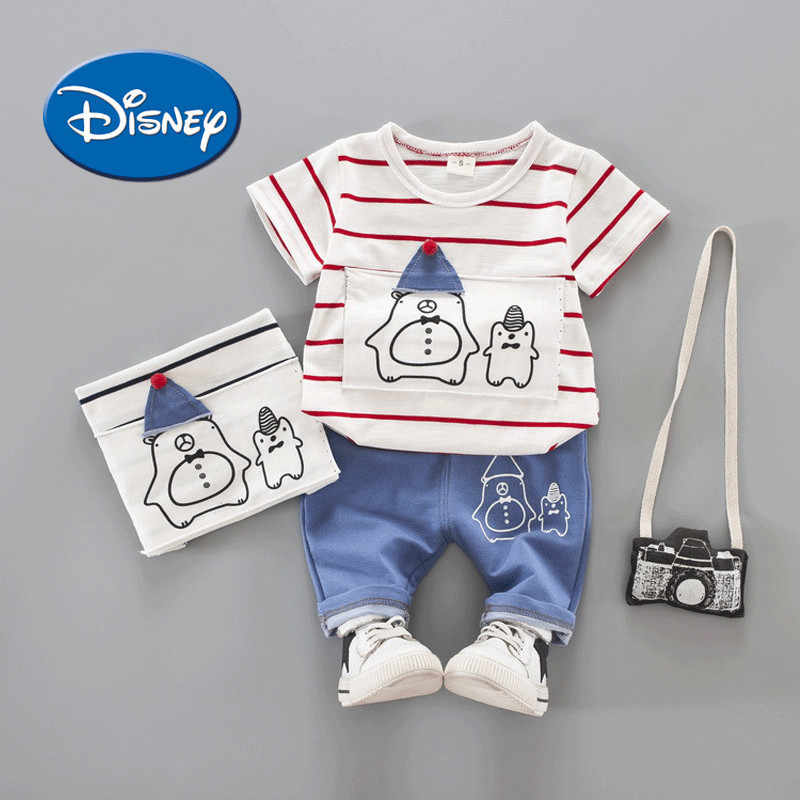 30f3bd81461cf Disney Official Flagship Shop Baby Children s Garment 0 Male Baby Summer  Tide Clothes 1 Year Catamite