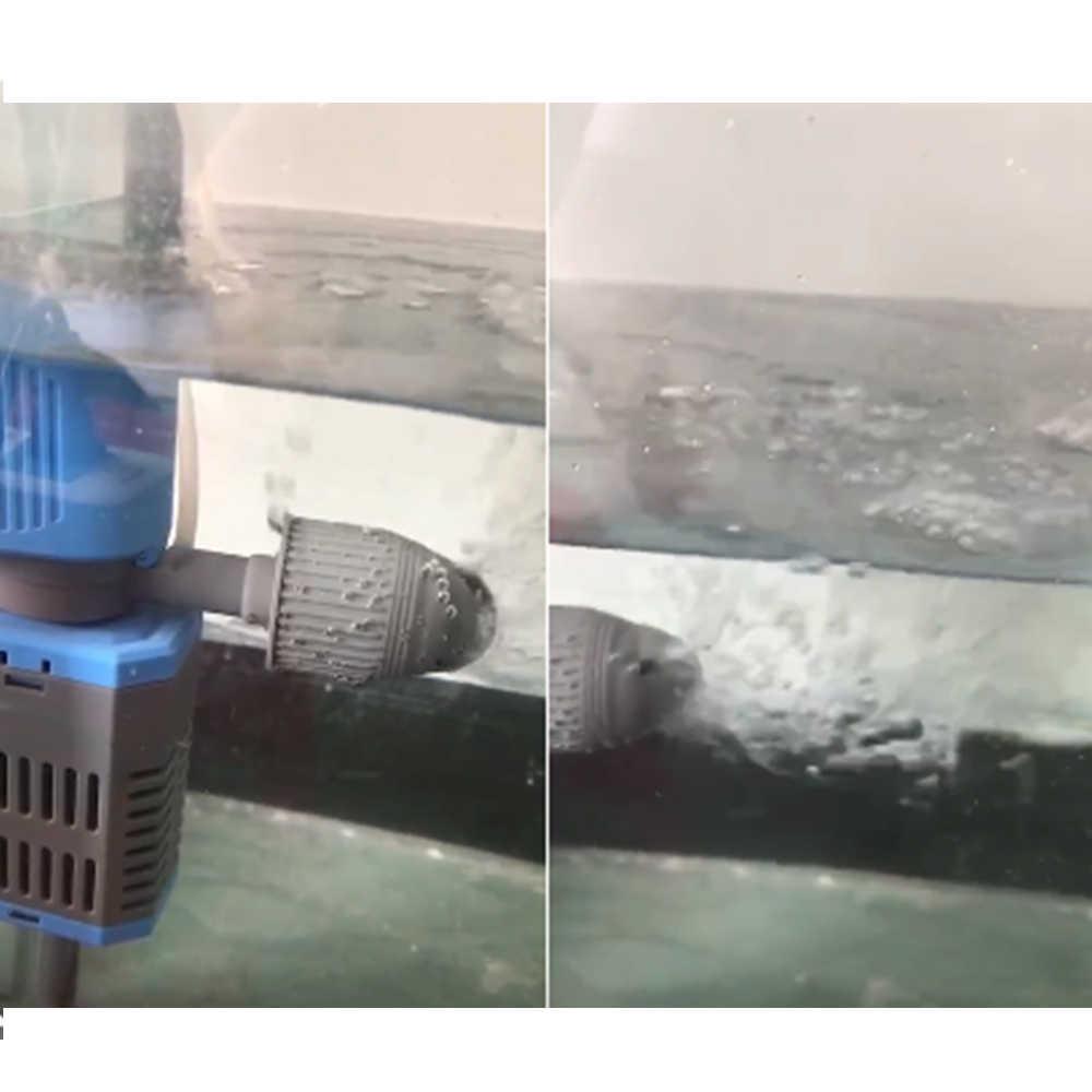 حوض السمك الموجة صانع مضخة قاعدة أكواب الامتصاص غاطسة المياه تداول تدفق Wavemaker ل حوض السمك البحرية المرجانية لوازم