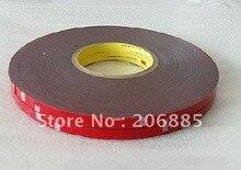 3 М 4229 P Автоматической двухсторонней клейкой акриловые пены ленты 10 мм * 33 М * 0.8 мм толщиной/серый цвет/5 рулонов/много