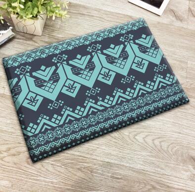 Bohemian Geometric Printed Doormat