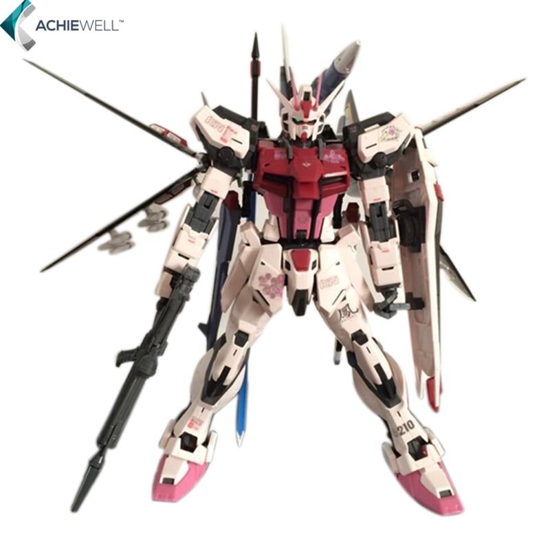 New Daban Phoenix Strike Rouge Gundam MG MBF-02 1/100 Assemble Model Anime Fans Collection Action Figure Robot Children Toys  model fans daban mg assembly gundam model 1 100 mobile suit gundam age 1 normal asemu asuno free shipping action figure