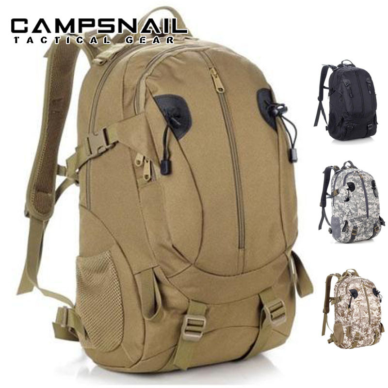 6 Colors 40L Outdoor Sports 3P Bag Tactical Military Large Climbing Bags Rucksacks For Explorer Camping Hiking Trekking Gym