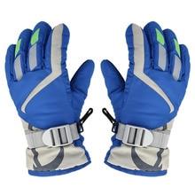Новые зимние Нескользящие лыжные перчатки водонепроницаемые теплые унисекс хоккейные перчатки для спорта на открытом воздухе горные лыжи сноуборд перчатки для детей