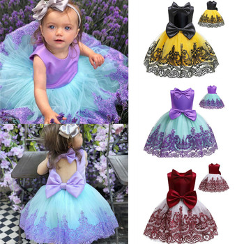 Été bébé filles robe pour filles Costume enfants robe de bal fête princesse robe fleur filles robe de mariée 1 2 3 4 5 ans Vestidos