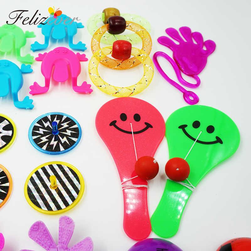 50 Pcs Pinata Pengisi Mainan Karnaval Hadiah untuk Anak Laki-laki dan Perempuan Pesta Mainan untuk Anak-anak Ulang Tahun Kotak Harta Karun Dada mengobati Hadiah