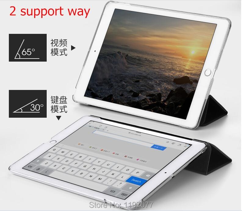 SureHIN Apple iPad Pro 10.5 üçün gözəl ağıllı dəri qutu, - Planşet aksesuarları - Fotoqrafiya 6
