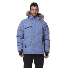 2019 New Men Down Jacket Winter Warm Fashion Down Coat Waterproof Down Jackets Men Hooded Outwear Overcoat Mens Winter Jacket цена 2017
