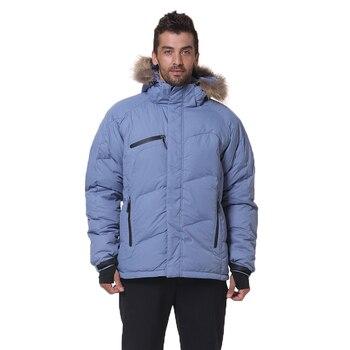 2020 New Men Down Jacket Winter Warm Fashion Down Coat Waterproof Down Jackets Men Hooded Outwear Overcoat Mens Winter Jacket цена 2017