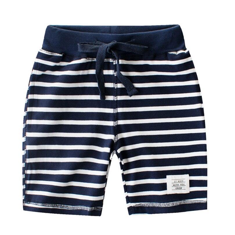2018 Autumn Brand Boys Pants Striped Kids Bottom Casual Cotton Shorts Pants Baby Toddler Boys Shorts Pants Children's Shorts boys ribbed striped pants