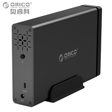 ORICO 3.5 in HDD Case Type-C Aluminum Hard Drive Enclosure USB3.1 to SATA3.0 HDD Dock Support UASP 12V2A Power MAX 10TB Capacity