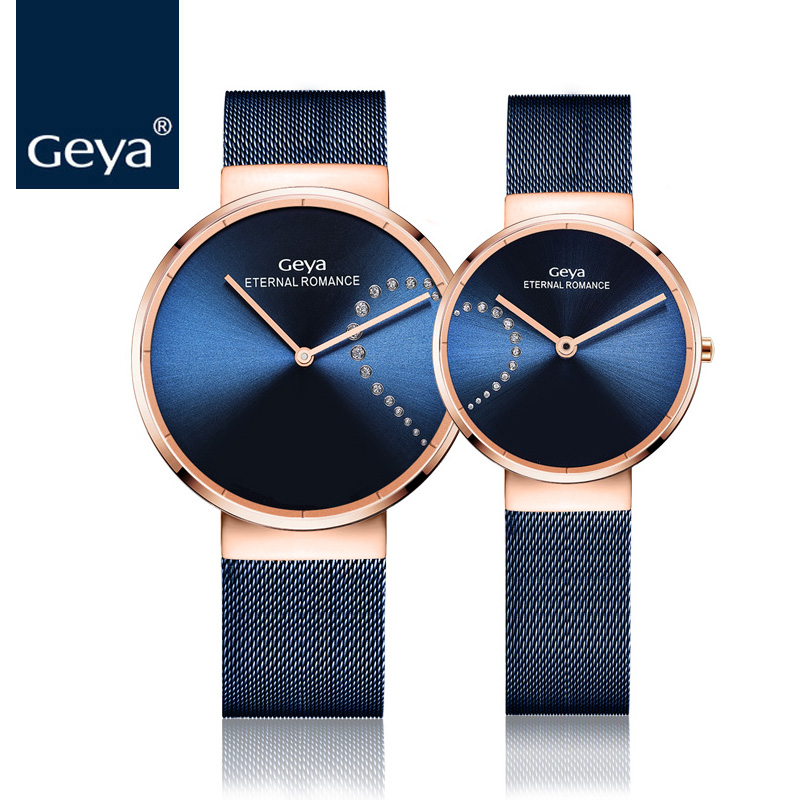 Geya Newest Simple Fashion Watches Women Nato Style Watch Colorful Steel Strap Quartz Wrist watch Ladies Clock reloj mujer 2017 fashion quartz wrist watches casual women s watch design yoga dial leather band buckle clock female simple hour reloj mujer