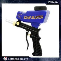 LEMATEC Metal Professional Portable Sandblaster Air Tools Portable Sandblasting Gun Heavy Duty Type Sandblaster