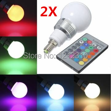 Free Shipping E27 E14 9W AC85-265V RGB led Bulbs Lamp with Remote Control Multiple Colour LED Lighting rgb 10w led bulb e27 e14 ac85 265v led lamp with remote control led lighting multiple colour