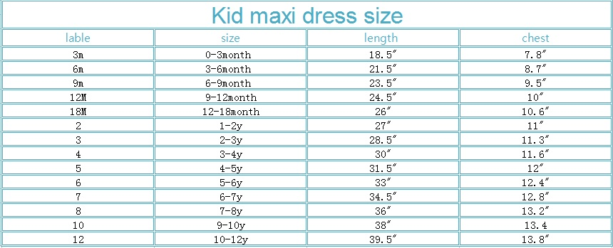 kid maxi dress1 size