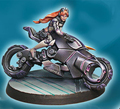 Kits de resina de 1/35 penthesilea guerrera figura de resina modelo diy juguetes nuevos wwii ww2