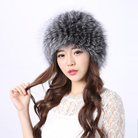 Voor koop, warm hoed, lederen vos haar, wind sneeuw cap, koude vrouw, koepeldop, een haar namens