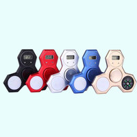 3 In 1 Alloy Hand Finger Spinner Compass Watch LED Anti Anxiety Fidget Toys