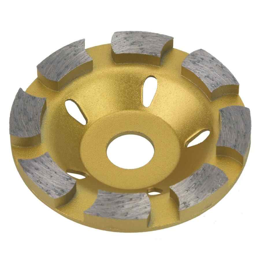 1Pcs 80mm Sintern Diamant Segment Schleifen Rad Tasse Rund Disc Sägeblatt für Schneiden Beton Marmor Granit Keramik stein