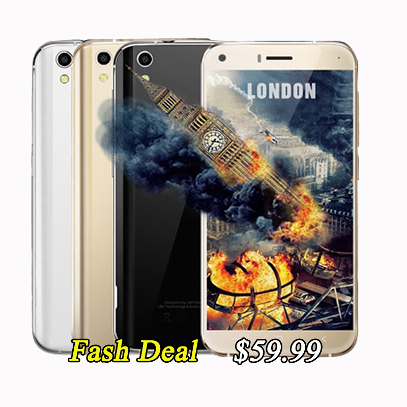 Original 5 0 inch HD Umi London CellPhone MTK6580 Quad Core 1GB RAM 8GB ROM 8