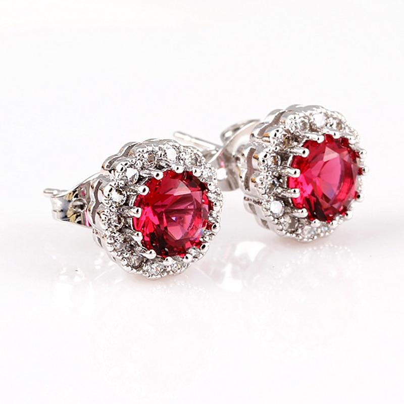 New Arrival Stud Earrings For Women Fashion 925 Sterling