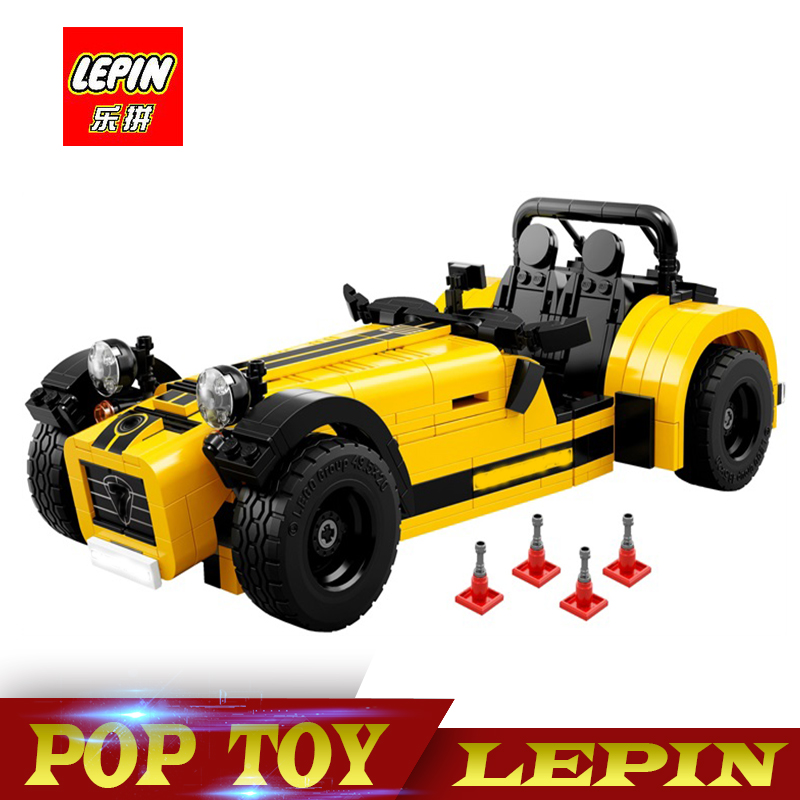 New Lepin 21008 classic Series The Caterha Seven 620R Model Building Block set Compatible legoed 21307 classic car-styling toy new lp2k series contactor lp2k06015 lp2k06015md lp2 k06015md 220v dc